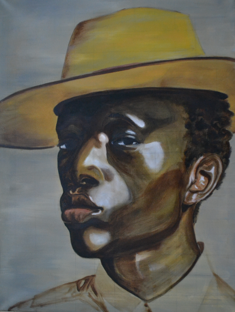portrait of wilson oryema